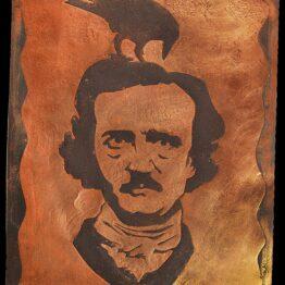 edgar allan poe, wall art, gift