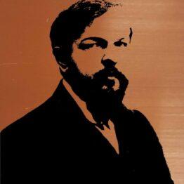 Claude Debussy, gift, portrait, wall art