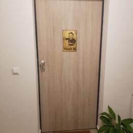 fallout art, fallout vault, fallout door, vault boy