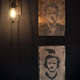 edgar allan poe, leo slezak, wall art
