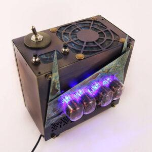 Industrial design Nixie tube clock