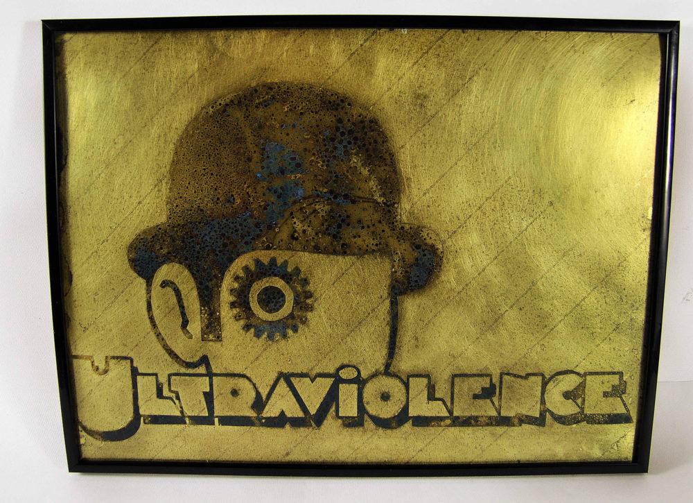clockwork orange ultraviolence, poster, wall art