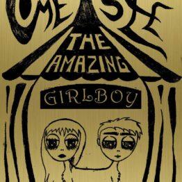Lowbrow art, gift, girl, boy, freak show, wall art