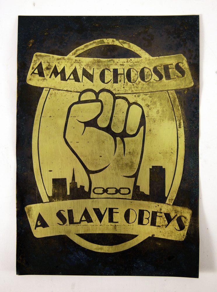 Bioshock gift, wall art, a man chooses, poster