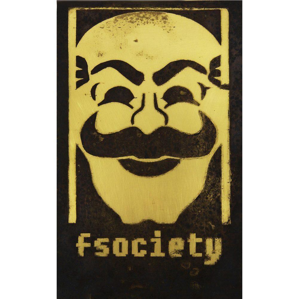 mr robot fsoeciety, mr robot fsoeciety poster, wall art