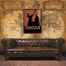 Dracula, Dracula poster, Dracula art, gift