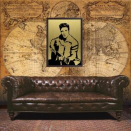 Elvis Prisley, gift, wall art, poster, portrait