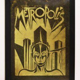 Metropolis, Metropolis poster, Metropolis wall art, gift