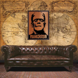 Frankenstein wall art, poster, movie poster