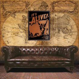 It's Alive wall art, poster, classic movie poster, gift