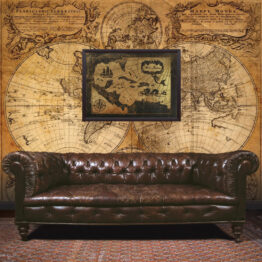 West Indies Map, Gift, Man Cave